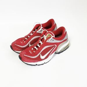 NIKE MAXAIR Red Women Running Sneakers Size 8.5